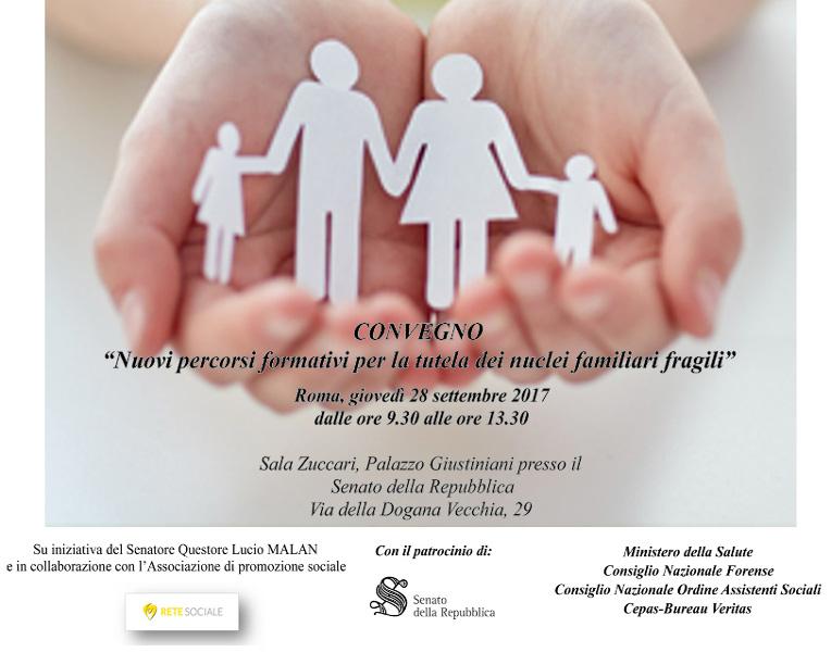 convegno Rete Sociale 28 settembre